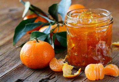 Delicious individually quick frozen (IQF) mandarin zest